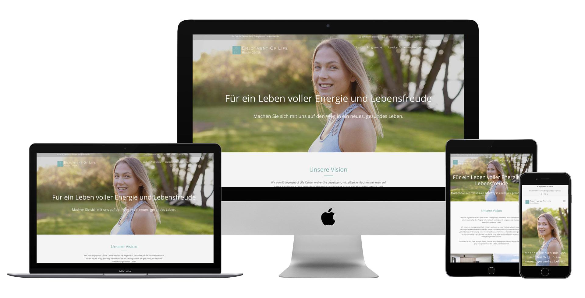 Medical Spa Website Agentur