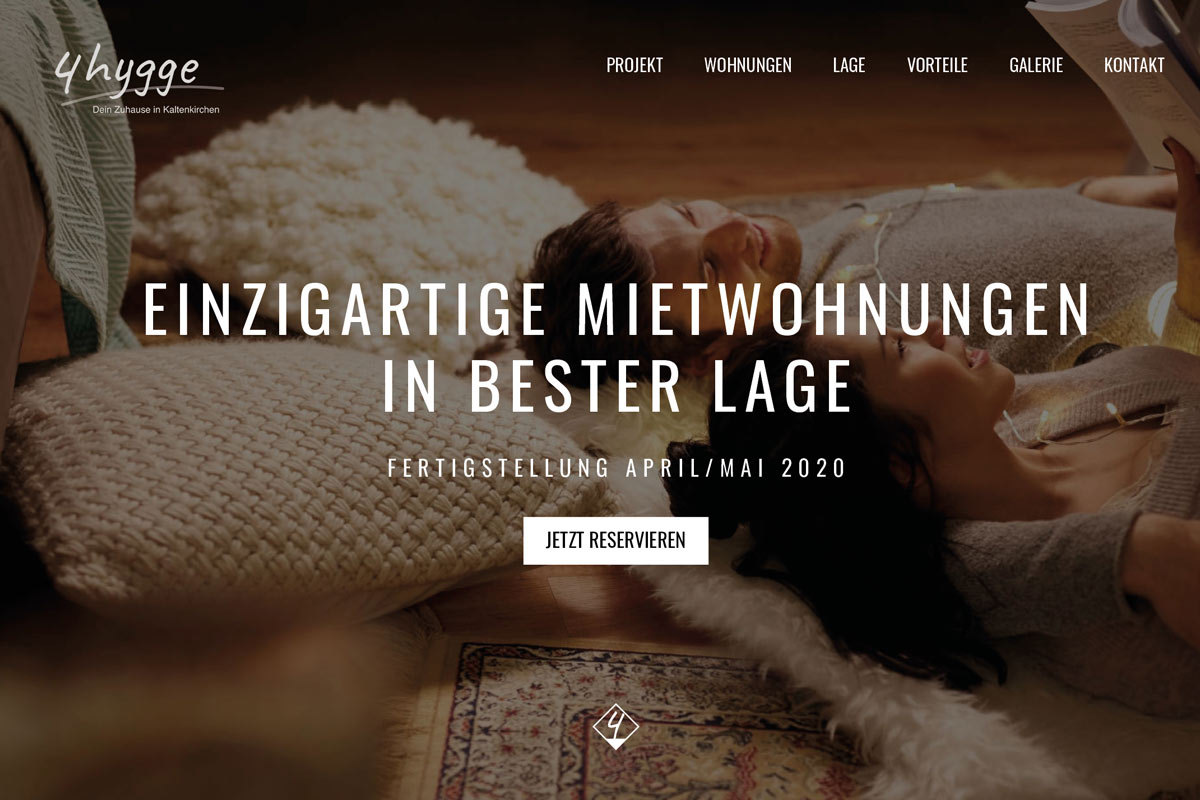 WordPress Immobilien Website